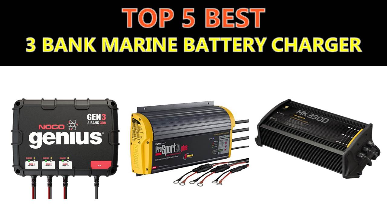 charger battery bank marine smart
